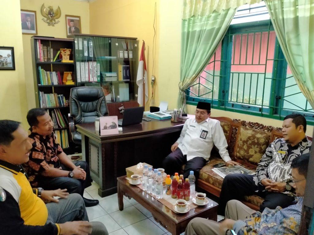 Sidak Kakanwil Propinsi Riau di MTsN 2 Pekanbaru