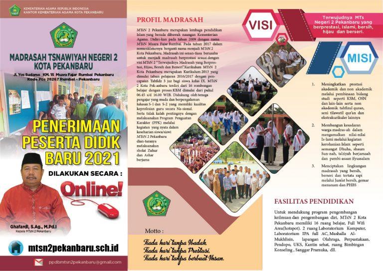 PPDB - MTs Negeri 2 Pekanbaru